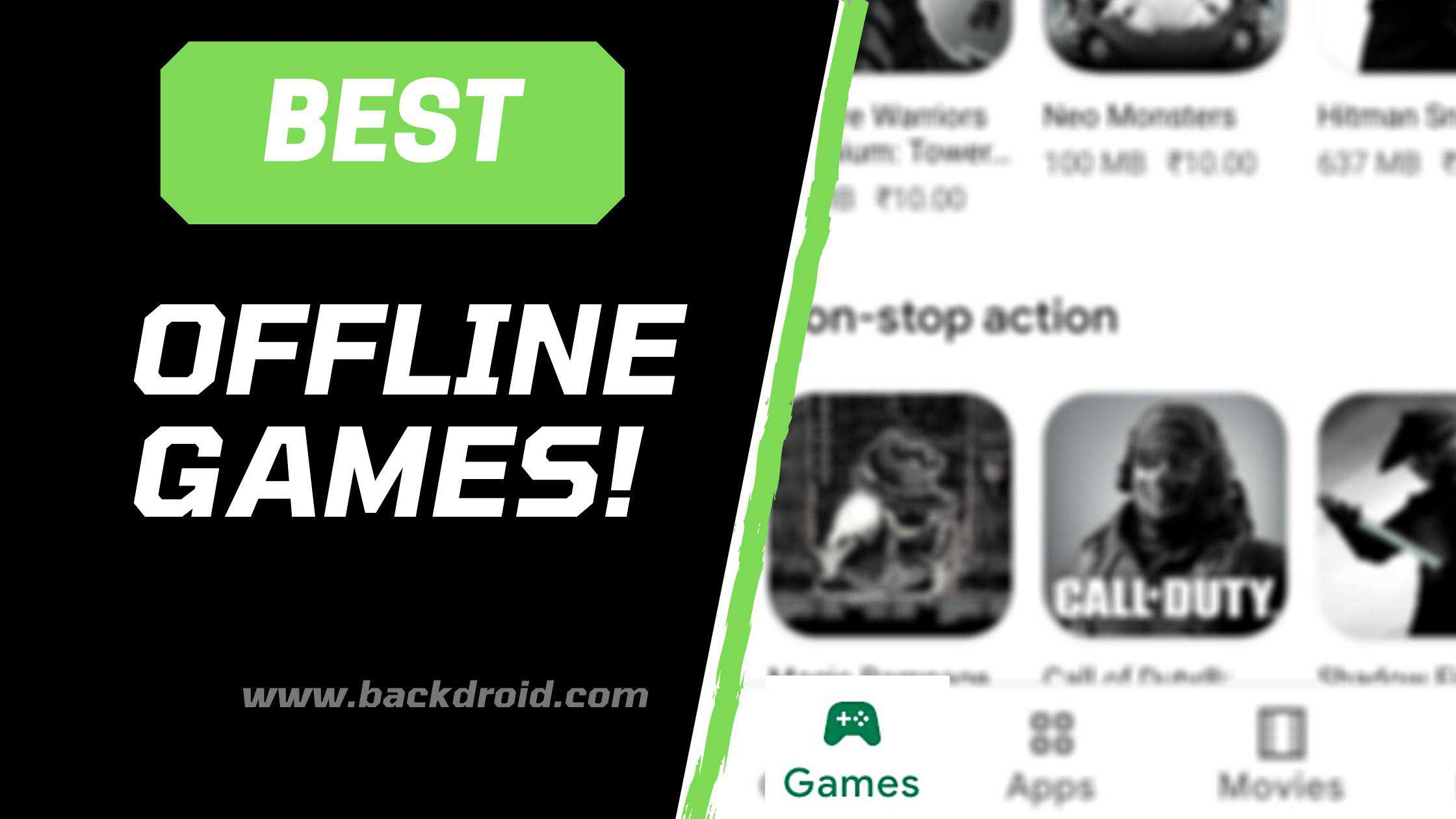 5 best offline games for android